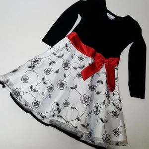 Bonnie Jean Holiday Dress Size 6X